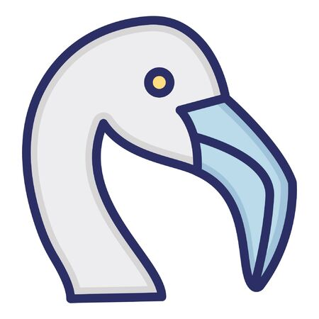Seagull  Isolated Vector Icon which can be easily modified or edited as you want