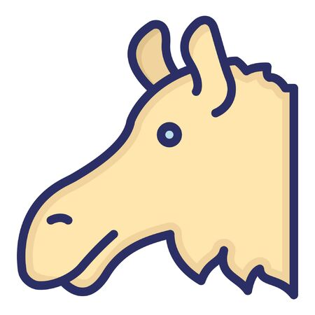Donkey  Isolated Vector Icon which can be easily modified or edited as you want