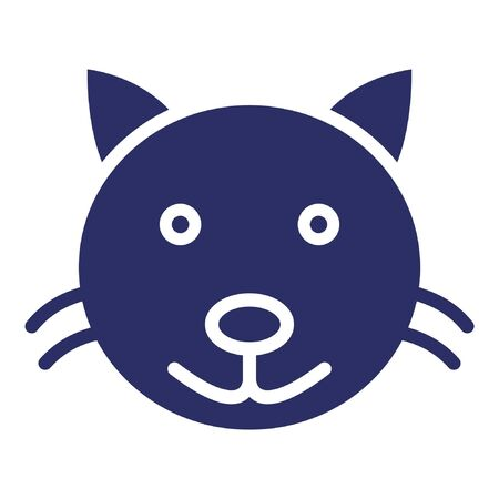 Cat Isolated Vector Icon which can be easily modified or edited