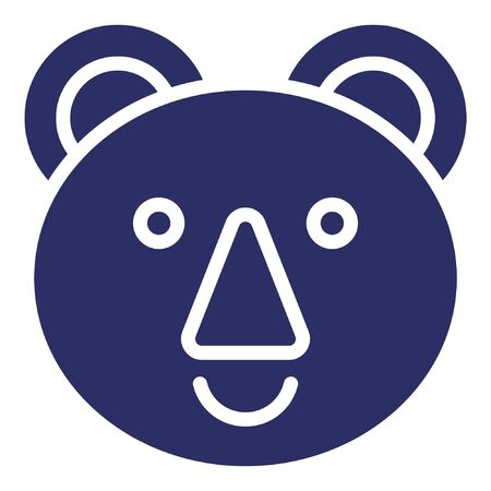 Bear Isolated Vector Icon which can be easily modified or edited