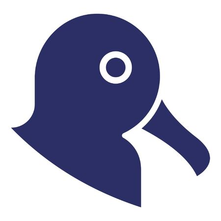 Duck  Isolated Vector Icon which can be easily modified or edited 向量圖像