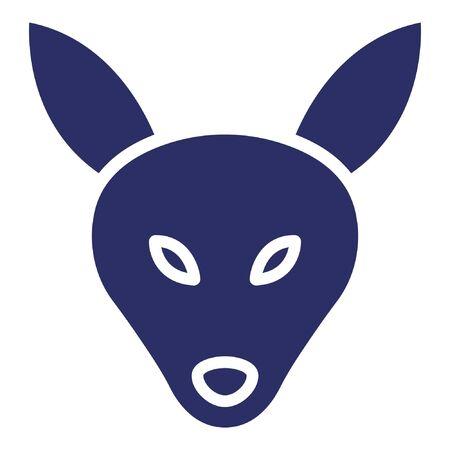 Mountain Goat Vector Icon 向量圖像