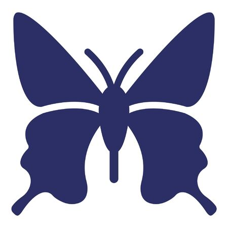 Butterfly  Isolated Vector Icon which can be easily modified or edited Ilustração