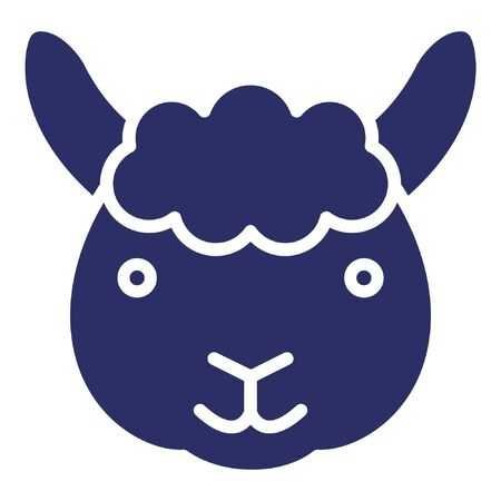 Sheep  Isolated Vector Icon