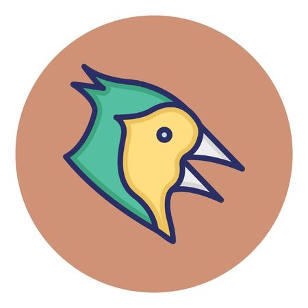 Hen  Isolated Vector Icon