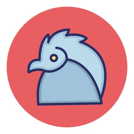 Eagle  Isolated Vector Icon  イラスト・ベクター素材