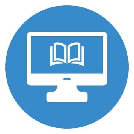 E book, e learning vector icon which can easily modify 向量圖像