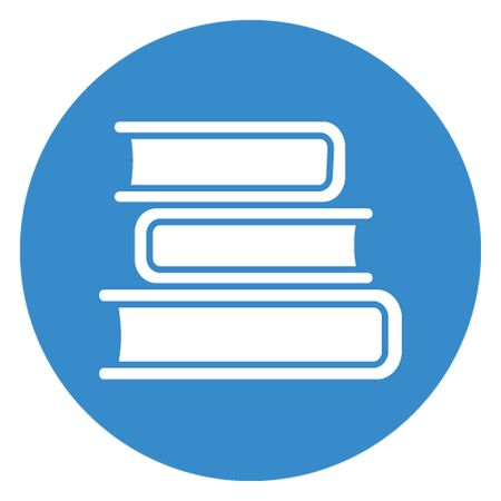 Books, learning vector icon which can easily modify Illustration