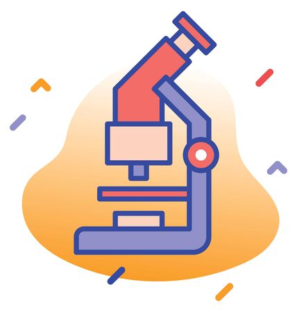 Laboratory, lab test, test  pathology fully editable vector icon Illustration