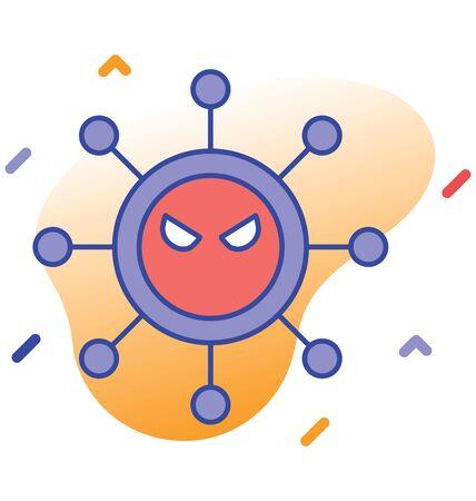 Coronavirus, Corona, Covid-19   vector icon