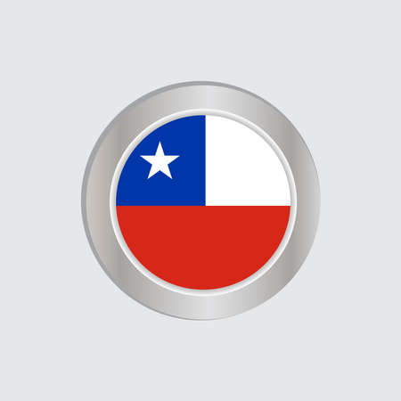 The flag of Chile in official colors, embed the map, as the original
