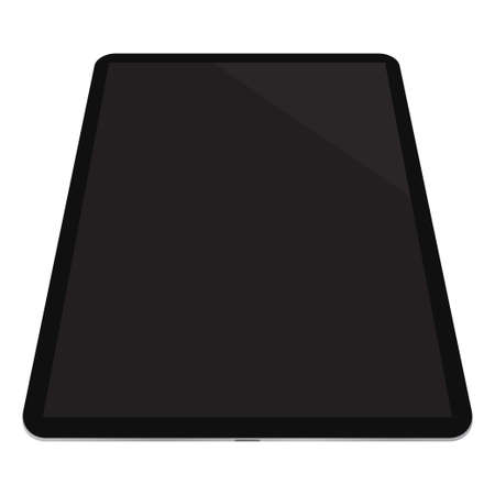 tablet icon on a white background for mockup. vector illustration elements
