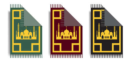 Islamic prayer rug collection