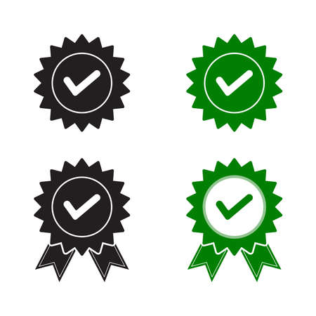 Medal check mark icon for Certified products.