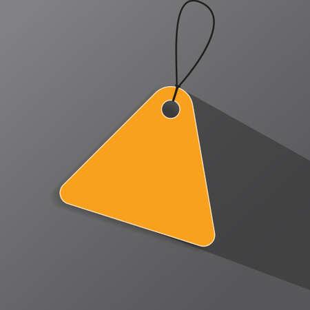 Price tag label - Vector
