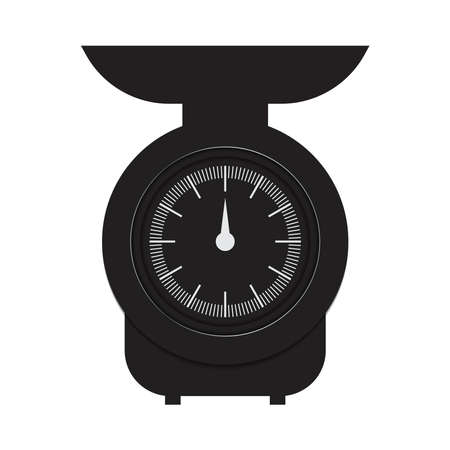 kitchen scale icons can be used for applications or websites