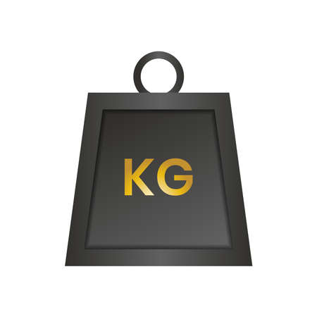 Weight kg icon can be used for applications or websites