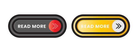 Modern Read More button icon