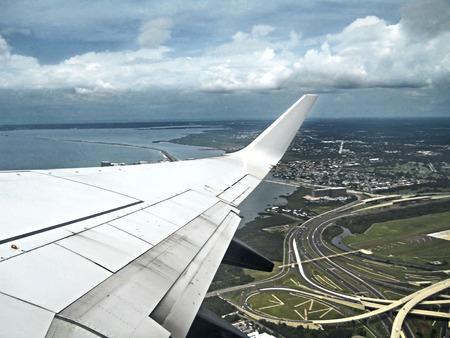 runways: Wings Stock Photo