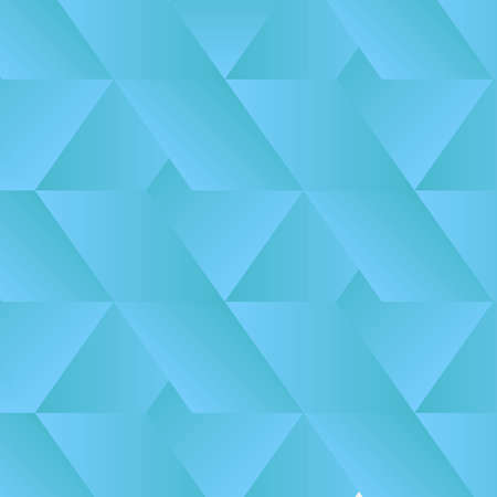 Abstract Geometry Pattern - Vector shapes in gradient color.