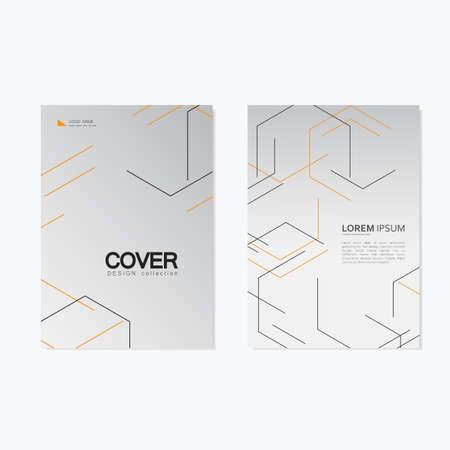 Modern stylish texture with linear hexagonal grid.