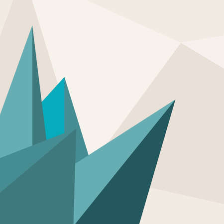 blank magazine: Abstract Triangle Background  Vector Creative Illustration.