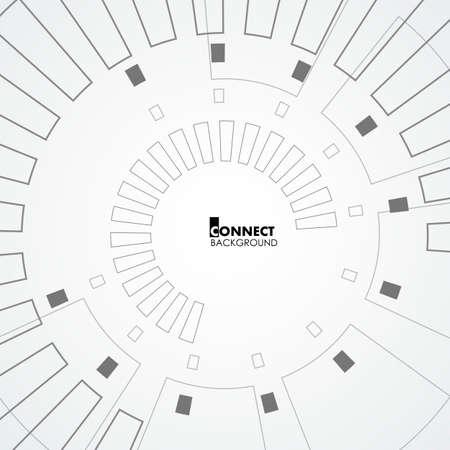 Technology circle design. Stock Vector - 87526420