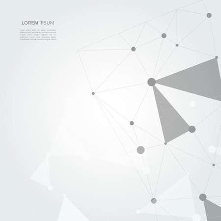 Abstract connection structure. Vektoros illusztráció