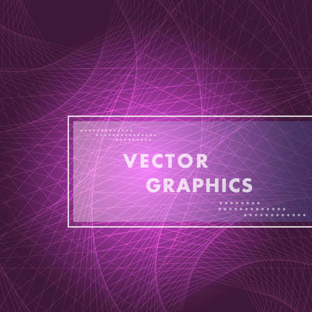 Abstract vector background with hexagon spiral pattern.