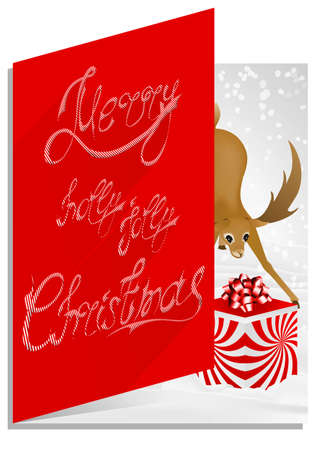 lolli: A modern chic design for a Christmas card.