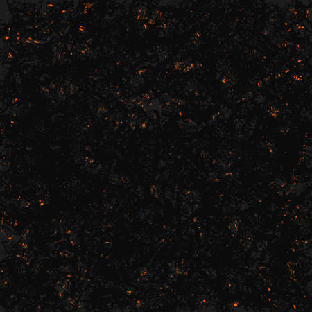 leaflets: glowing glitter coal texture on the black grunge background. vary colorful and contrast. Ideally design element for the backdrops, celebrations, Halloween, book cover,  leaflets.
