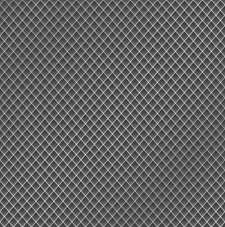 metal mesh: Realistic metal grid texture background. Structure of metal mesh fence with diagonal falling highlights and shadows. Perfect for your metal industry design, cards, banner, web. Illustration