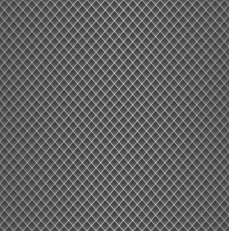 netting: Realistic metal grid texture background. Structure of metal mesh fence with diagonal falling highlights and shadows.