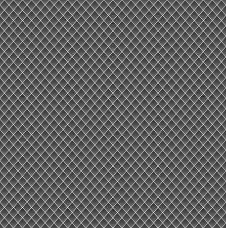 metal mesh: Realistic metal grid texture background. Structure of metal mesh fence with diagonal falling highlights and shadows.