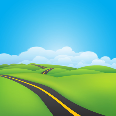 green environment: Green environment background Illustration