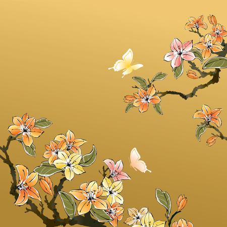 Arte tradizionale cinese Archivio Fotografico - 43460844