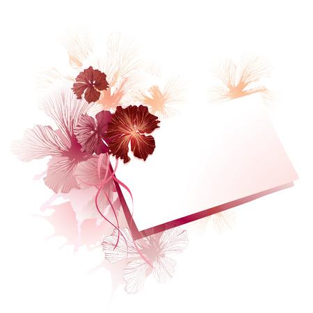greetings card: Seasons greetings card