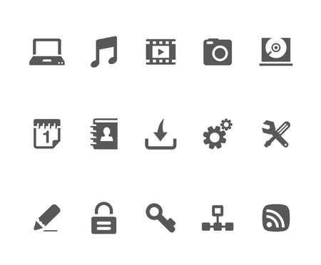 Homepage related icons