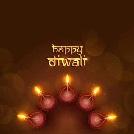 Diwali festive background