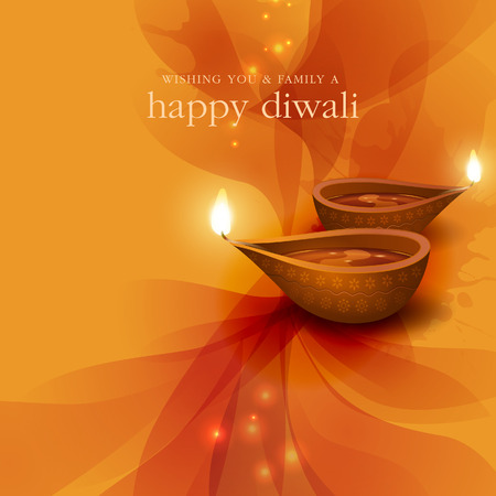 Diwali festive background