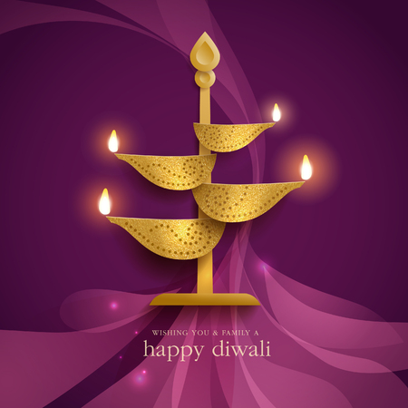 Deepavali festive background