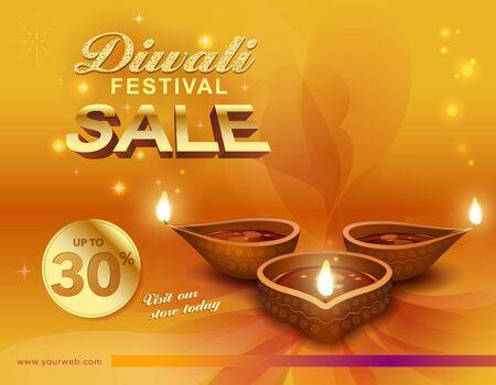 Deepavali festive background