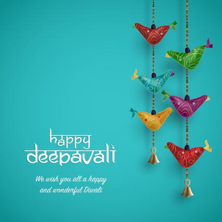 Diwali festival vector illustration Zdjęcie Seryjne - 84945242