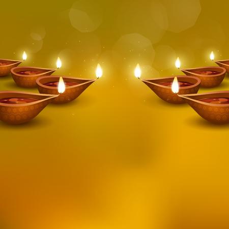Deepavali greetings background Stok Fotoğraf - 119123422