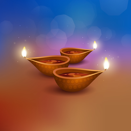 Deepavali greetings background Zdjęcie Seryjne - 119123424