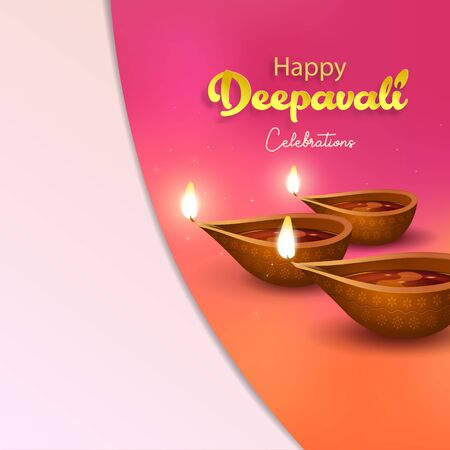 Deepavali greetings design Çizim