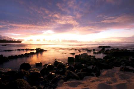 kauai: Kauai beach Stock Photo