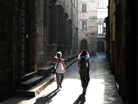 lucca: Walking in Lucca, Tuscany