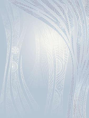 희미한 빛: 빛의 파도와 만다라 꽃 대기 배경에 빛나고있다