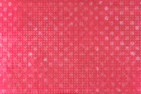 subtle background: Texture of a photographed paper with white dots, behind lined textile and some layers of digital dots for this subtle background                                Stock Photo